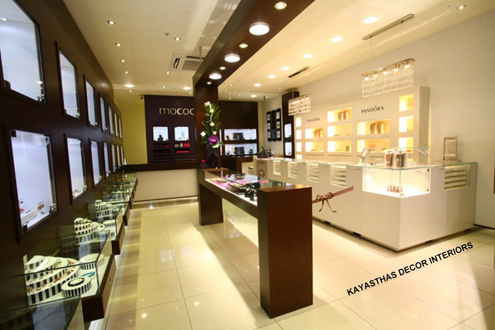 Kayasthas decor interiors jewellery showrooms interiors