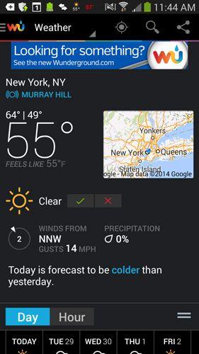 best weather underground app android