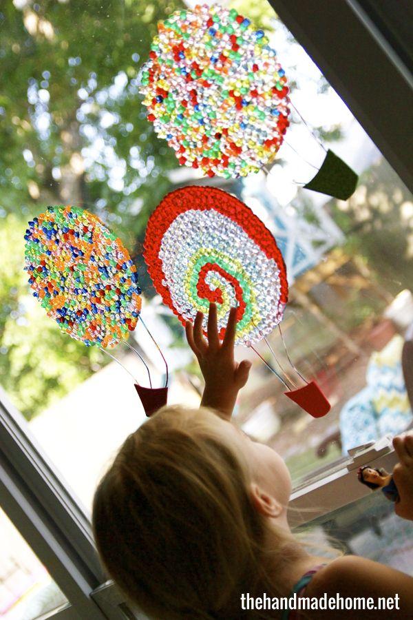 hot air balloon light catchers | Hot air balloons, Air ...