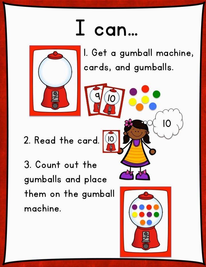 Teacher Laura: Gumball Teens Freebie   Math   Pinterest   Kind