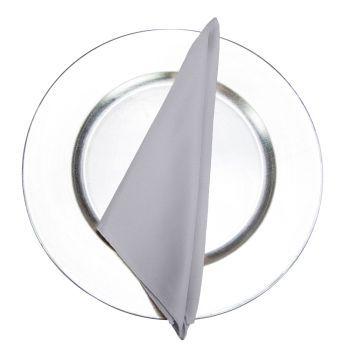 Silver Classic Linen Napkin