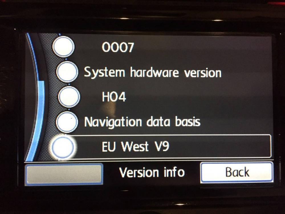 VW RNS315 europe west map update V9 | Telecharger jeux