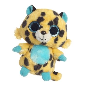 Yoohoo And Friends Spotee The Stuffed Cheetah By Aurora Stuffed