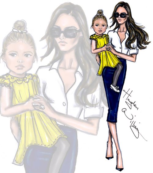 Victoria & Harper by Hayden Williams| Be Inspirational❥|Mz. Manerz: Being well dressed is a beautiful form of confidence, happiness & politeness