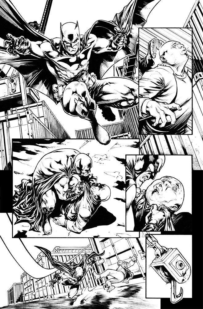 Sample page. Batman Eternal Page 1 #batman #dc #comics #laiso ...