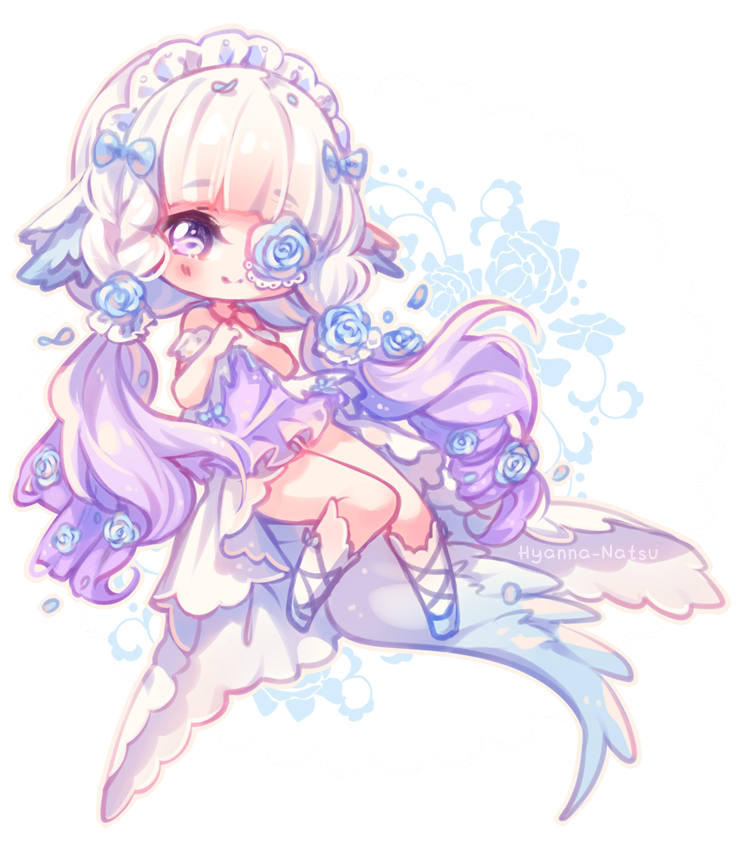 Video Commission Soft Elegance By Hyanna Natsu Deviantart Com On Deviantart Cute Anime Chibi Anime Chibi Chibi Girl Drawings