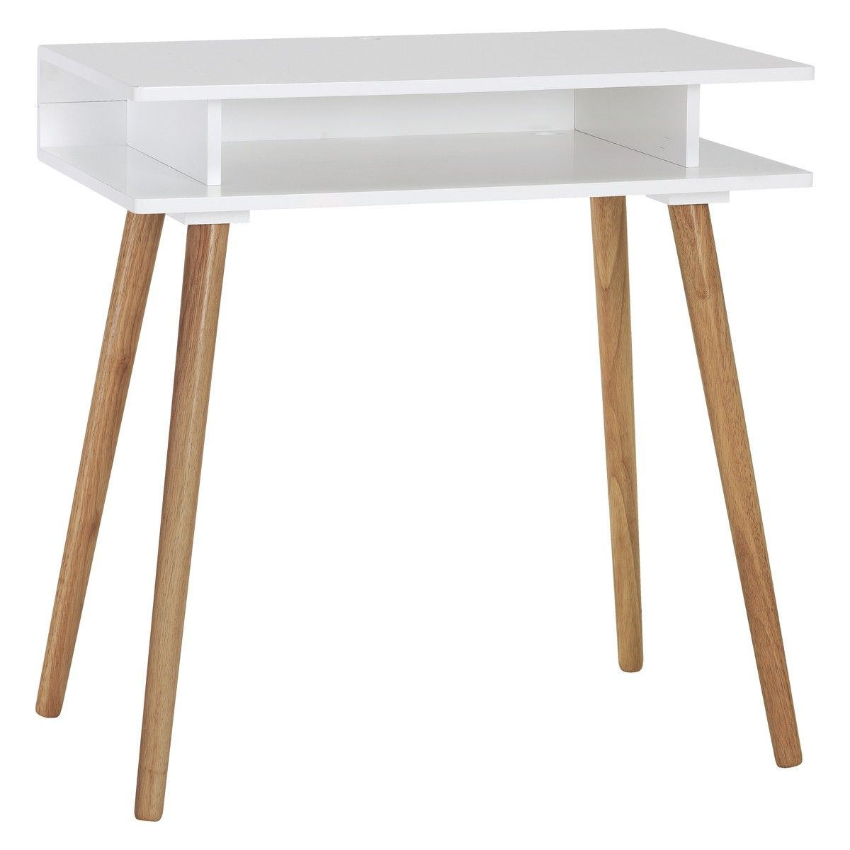 Captivating 125GBP 75x45x77H CATO White Desk