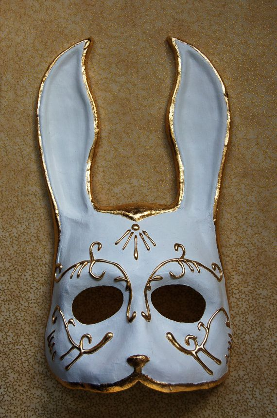 Made to Order BioShock Splicer Rabbit Mask by AnotherFaceStudio