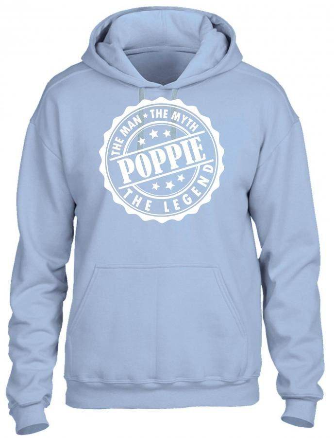 poppie the man the myth the legend 1 (2) HOODIE