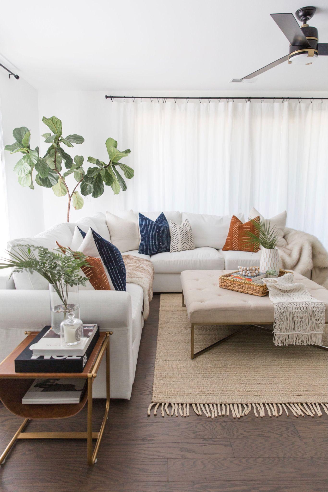 Boho Chic Living Room Inspo   Modern farmhouse living room, Living ...
