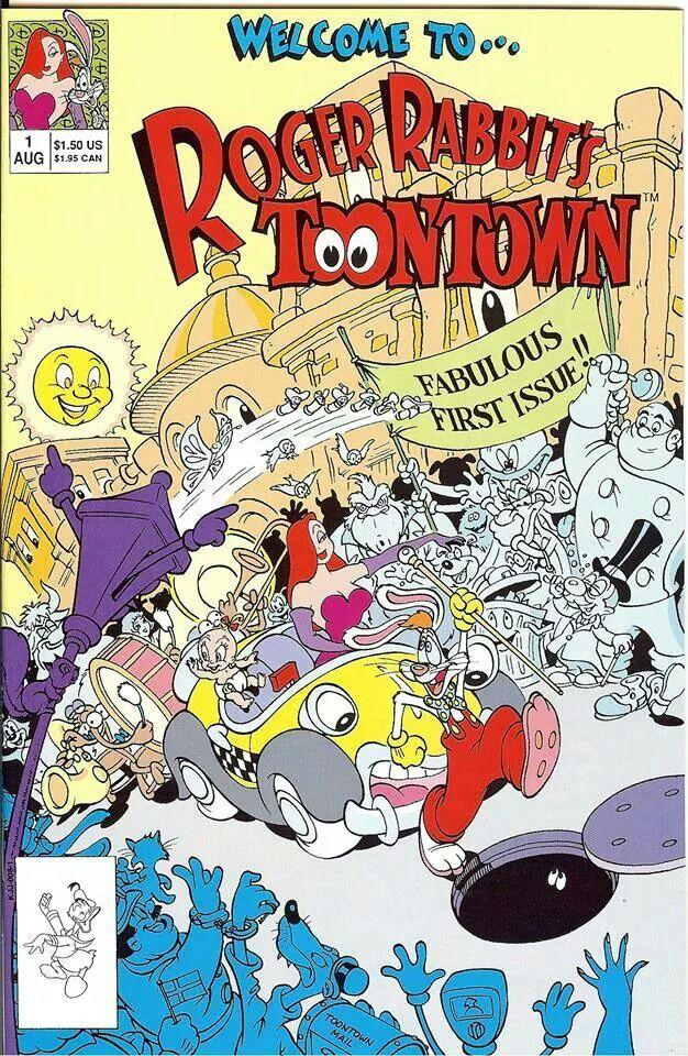 Roger Rabbit\'s Toontown #1   Roger Rabbit   Pinterest   Cómic