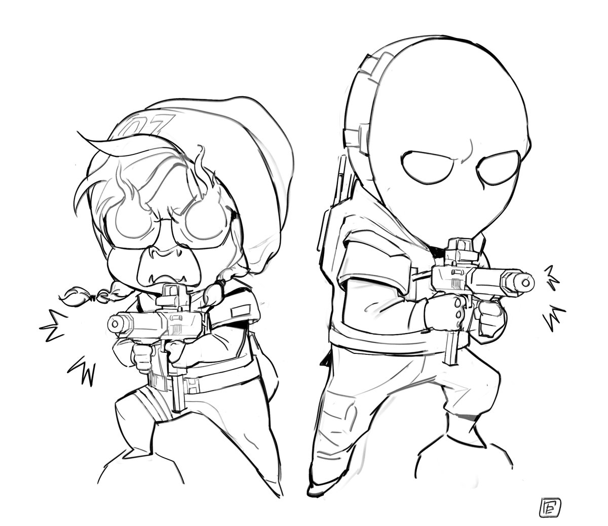 Dokkaebi And Vigil R6