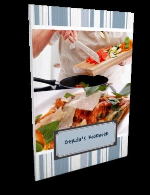 Je eigen kookboek ontwerpen het blijft leuk!