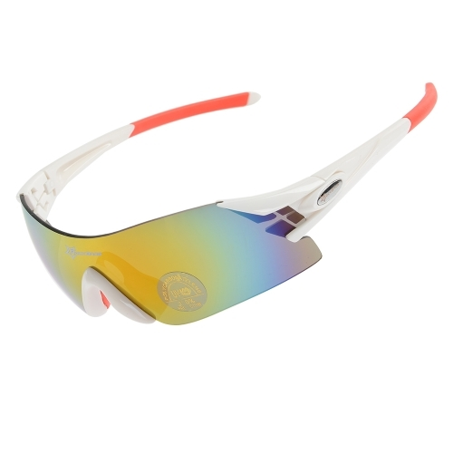 7de994df61b (6.49 ) Watch more here - ROCKBROS Colorful Cycling Glasses Windproof UV400  Blocking Polarized