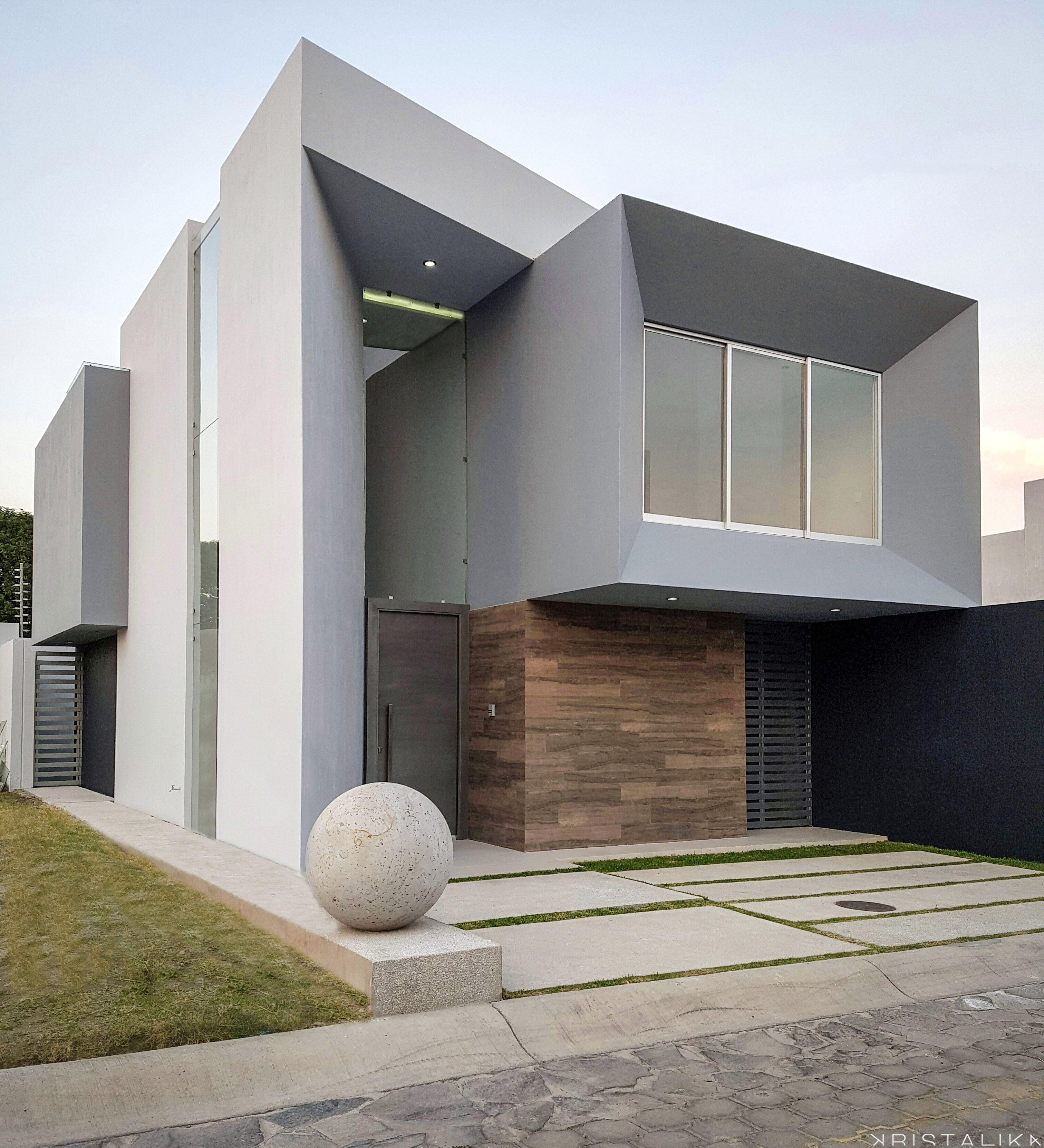 RSI HOUSE Fachadas Modernas Pinterest House Architecture - A beautiful villa in ljubljana every minimalist will love
