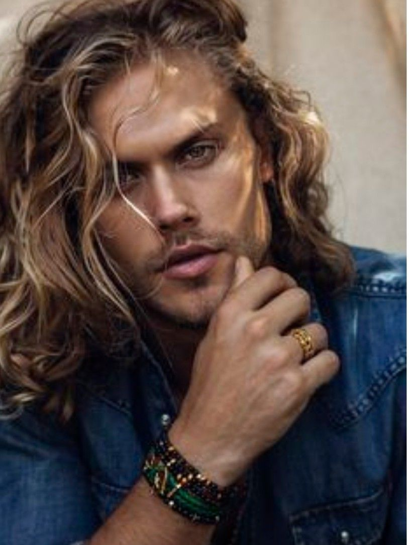 Christopher Mason Long Hair Styles Men Blonde Guys Long Hair