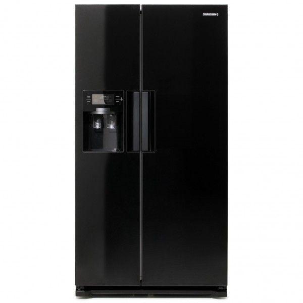 American Fridge Freezer With Ice Part - 34: Samsung-american-fridge-freezer-black-ice-water.jpg (