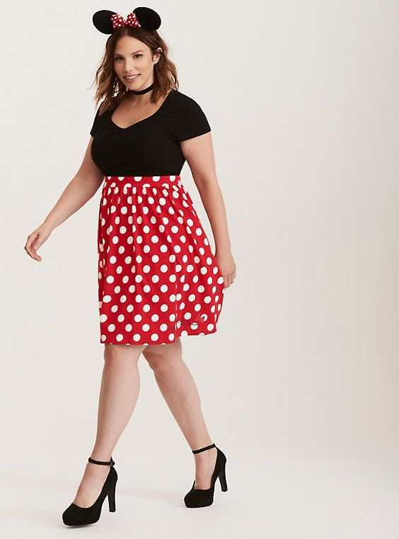 1b5f6527ad40c Disney Minnie Mouse Polka Dot Skater Dress | My Style - Clothes ...