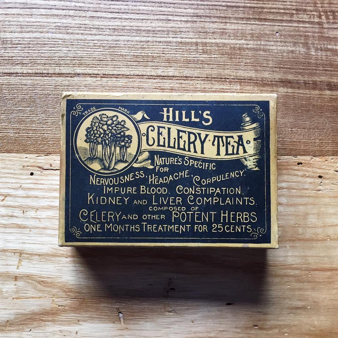Hill's Celery Tea