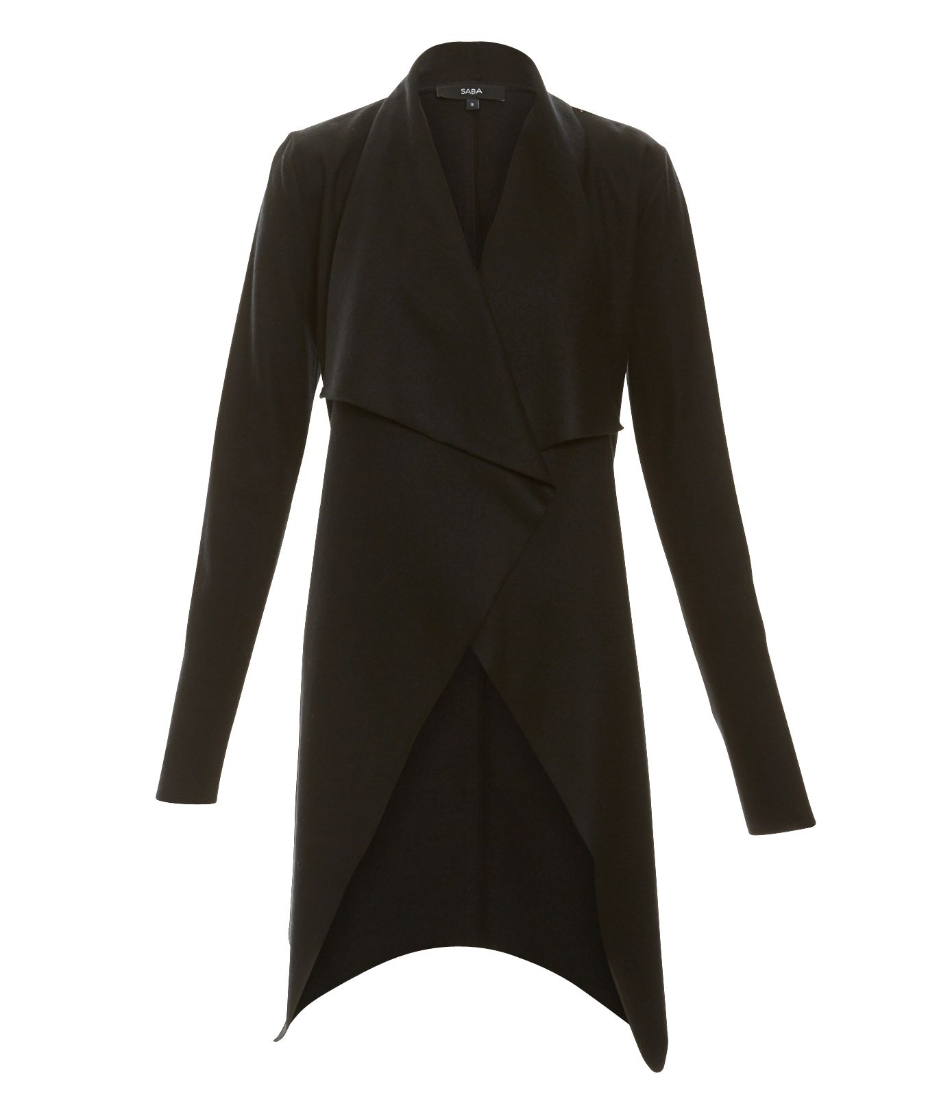 Karlie Knit Cardi 100% Merino Wool in Black  e33c9e62e