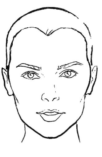 Identifying Your Face Shape Haircut For Face Shape Face Shapes Heart Face Shape