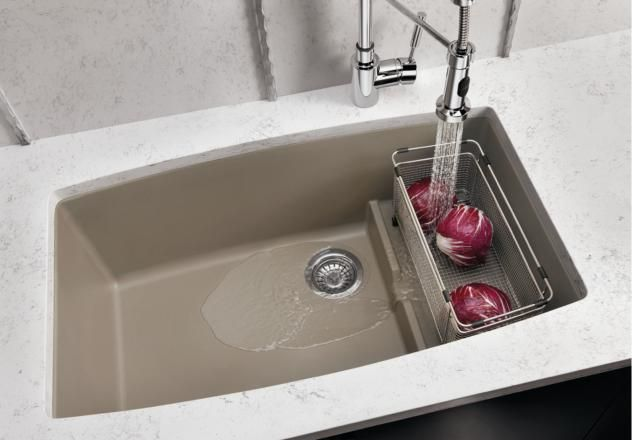 Attractive Blanco Performa Cascade Super Single Bowl With Divider