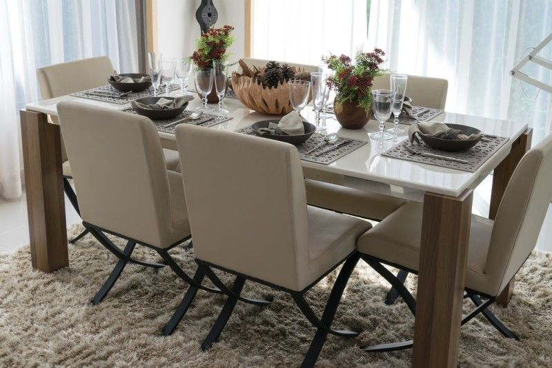 27 Modern Dining Table Setting Ideas Dining Table Modern Dining Table High Back Dining Chairs