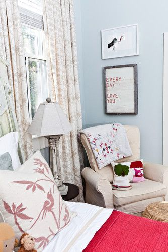 Cosy Set Up Of Reading Chair In A Corner Right Next To The Bed Decor Home Interior Design Interior Inspiration