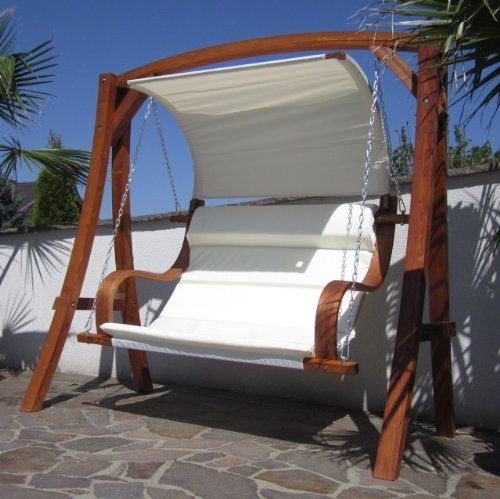 Hollywoodschaukel Gartenschaukel Hollywood Schaukel Holz Larche Meru Fur 2 Personen Outdoor Furniture Outdoor Bed Outdoor Decor