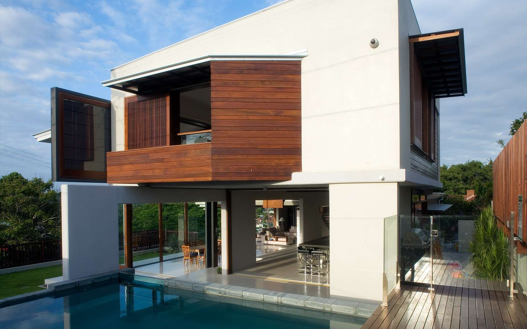 Queensland australia 7 modern home design ideas lakbermagazin - Patane Residence The Three Story Modern Family Home In Newmarket Queensland Australia Designed By Bureau Proberts
