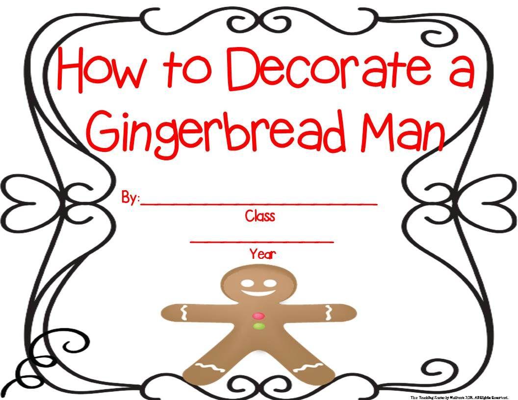 Gingerbread Unit Activities Amp Centers