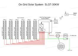Image Result For Solar Pv Power Plant Single Line Diagram Single Line Diagram On Grid Solar System Line Diagram