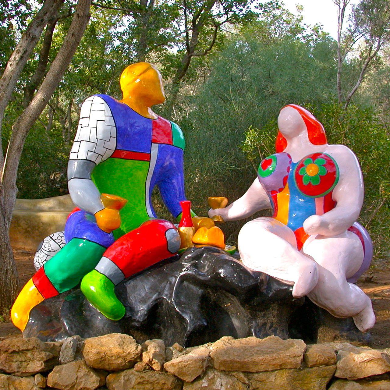 Une artiste d 39 exception niki de saint phalle 1930 2002 - Jardin tarots niki de saint phalle ...