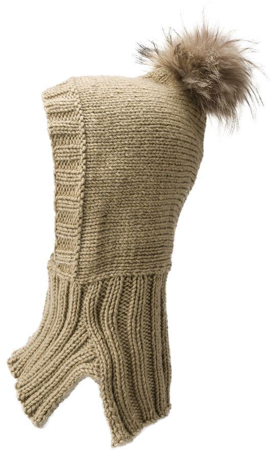 Naisen neulottu joustinneulehuppu myssy pipo Novita Hile | Novita knits