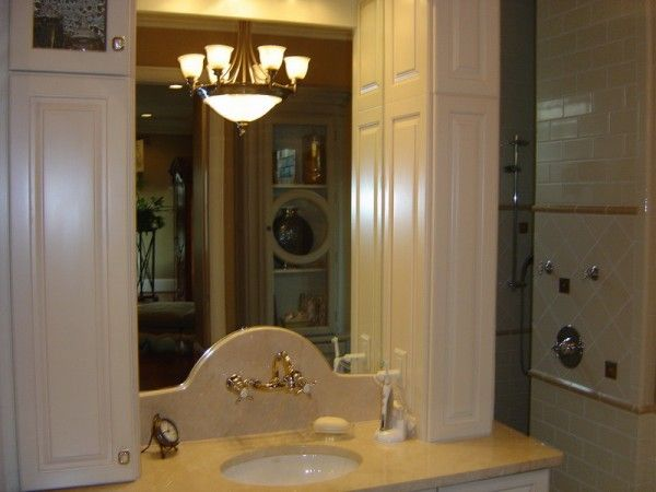 Bathroom Ideas with Classy Bathroom Mirror Picture