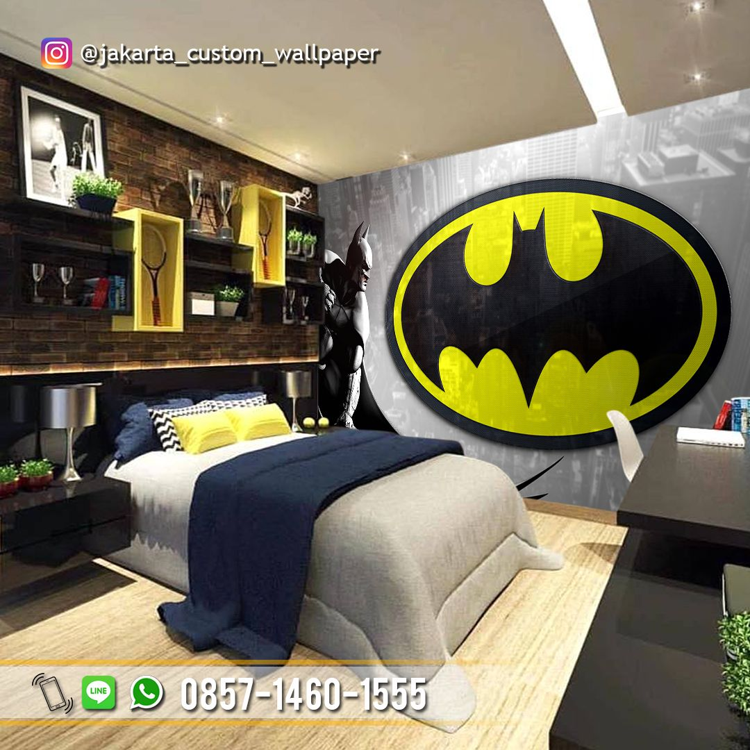 WALLPAPER KAMAR ANAK Wallpaper Dinding Custom 3D Tema