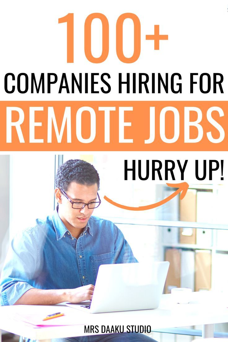 50 immediate hire work from home jobs near me (2020) in