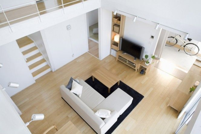 Small Compact Minimalist Prebaricated Home in Japanese Style by ...