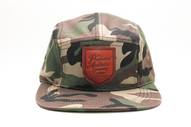 56172ac8a10b8 Profound Aesthetic Camo 5 Panel Shield Hat..ordered.