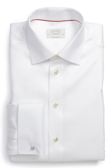 Eton Contemporary Fit Dress Shirt (Online Only) available at #Nordstrom