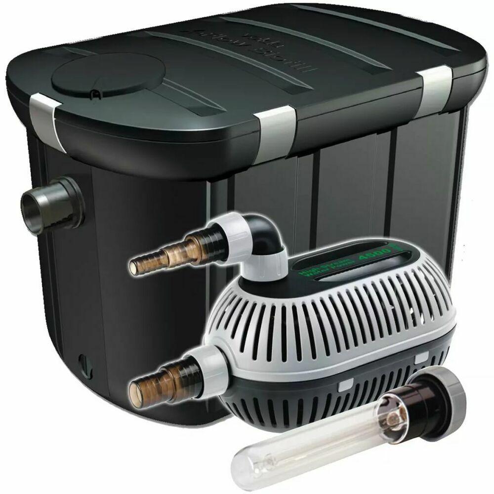 Ebay Sponsored Velda Teichfilter Filter Set Fur Teiche Bis 10000l Mit Teichpumpe Uvc Klarer Teichpumpen Teichfilter Filter