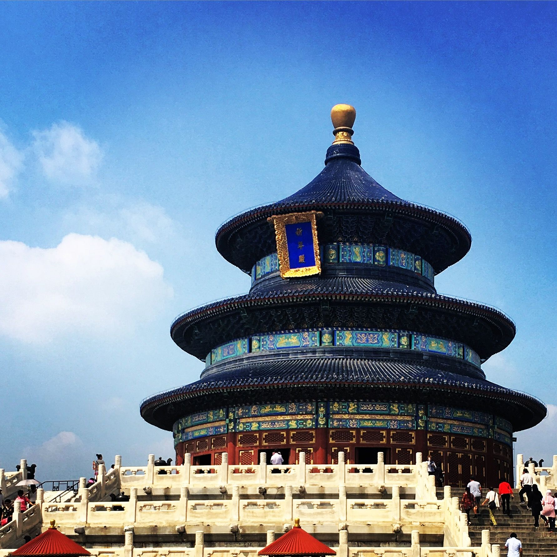 why was the temple of heaven built