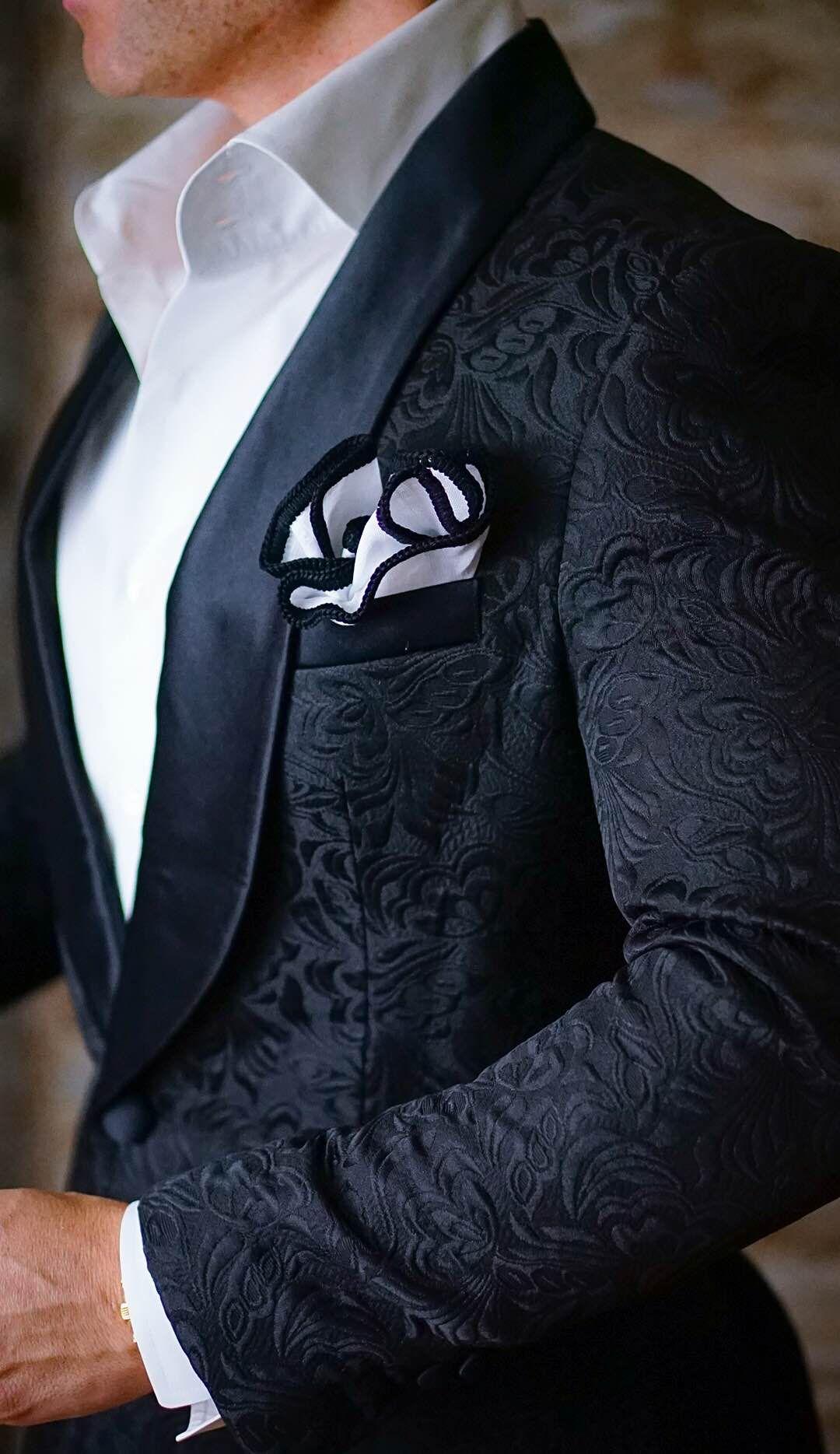 So sharp... Your groom will look sooooooo sharp! Get the S by Sebastian  Dinner Jacket and you won t go wrong. Be Bold.  sebastiancruzcouture d5a465e8358e1