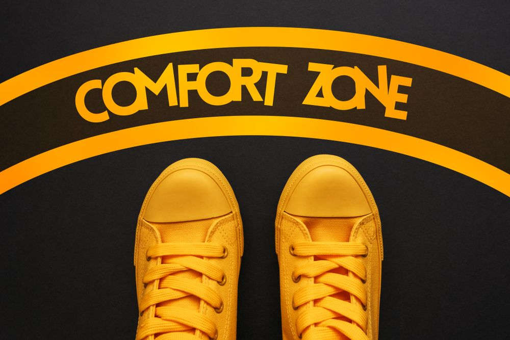 Why I will NEVER work outside of my comfort zone! | Comfort zone, Zone, Comfort