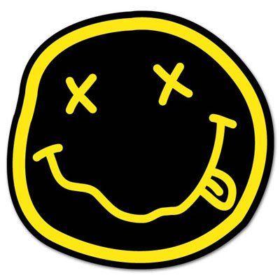 Nirvana Smiley Rock Band Vynil Sticker Decal Select Size Sticky Pig Http Www Amazon Com Dp B00dsd6srk Ref Cm Sw Band Stickers Print Stickers Nirvana Smiley