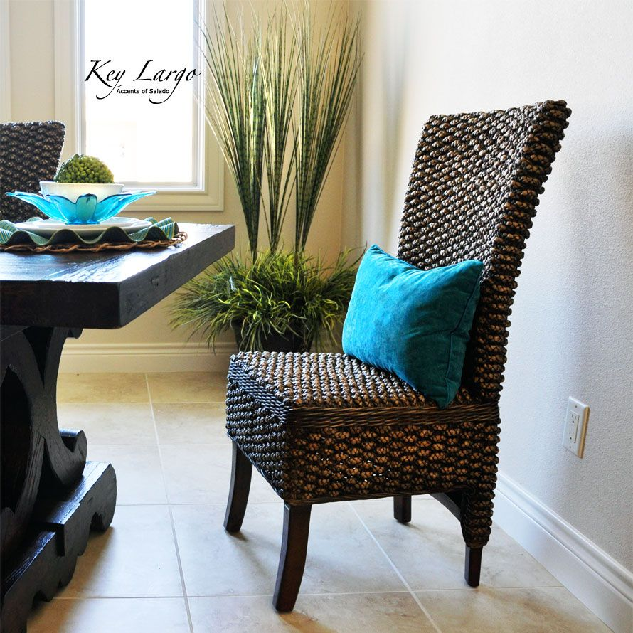 The Key Largo Dining Chair In A West Indies Style Dining Room Hemingway Would Have Loved This