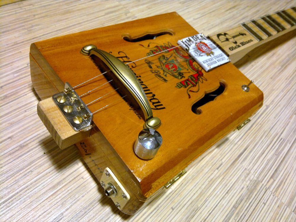 miku 4 hemingway 0007 olek blues signature cigar box guitar miku cigar box guitars. Black Bedroom Furniture Sets. Home Design Ideas
