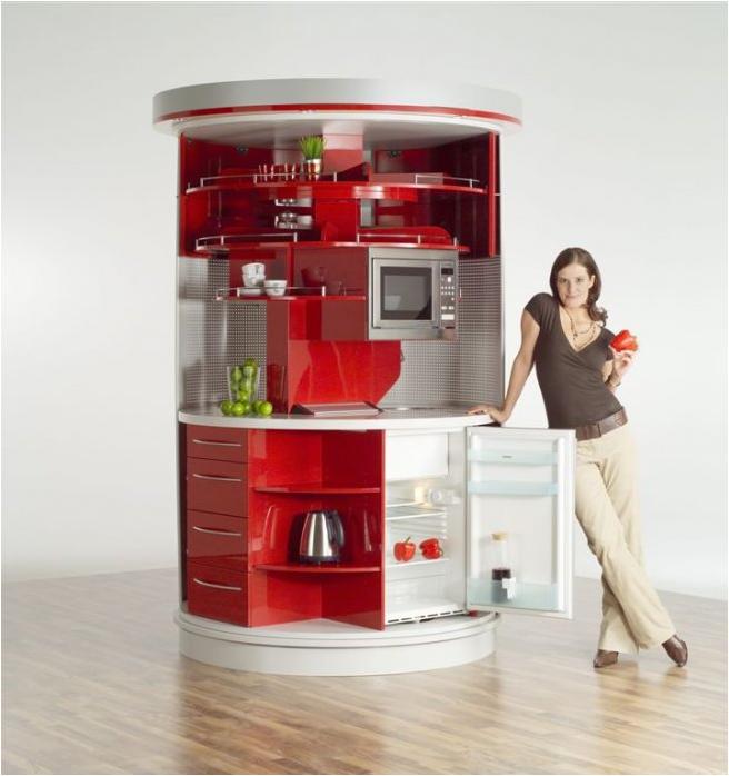 Cocina funcional para espacios peque os decoracion for Cocinas para espacios pequenos