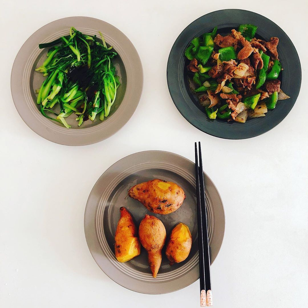 #simplerecipe #sweetpotato #chinesefood #vegetable #fitnessn #calories #pepper #around #oyster #pepp...