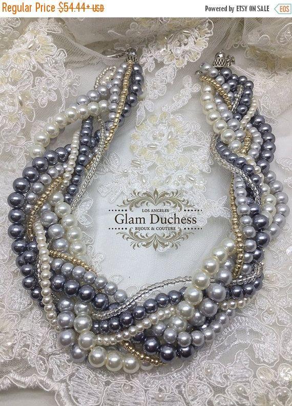 Wedding jewelry set bridal jewelry set bridesmaids by GlamDuchess